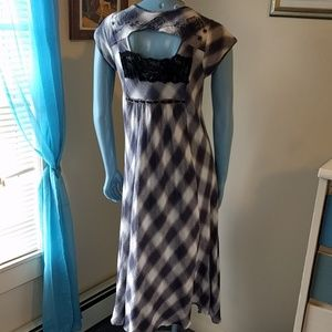 Free People Dresses - COMING SOON! FP Buffalo Blue Check High Low Dress